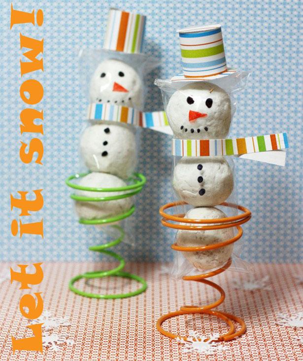 The celebration shoppe snowman cello treat 0356 wt