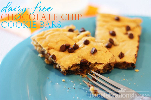 The celebration shoppe dairy free chocolate chip cookies 1311 wl