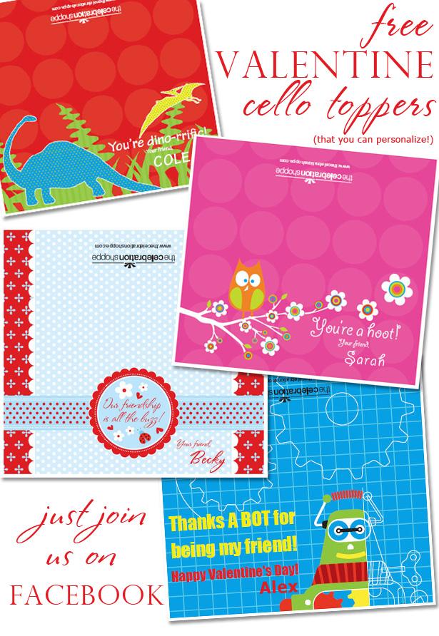 The celebration shoppe valentine freebies blog