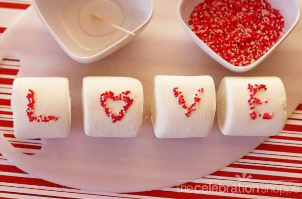 The celebration shoppe valentine marshmallows 1363 wl