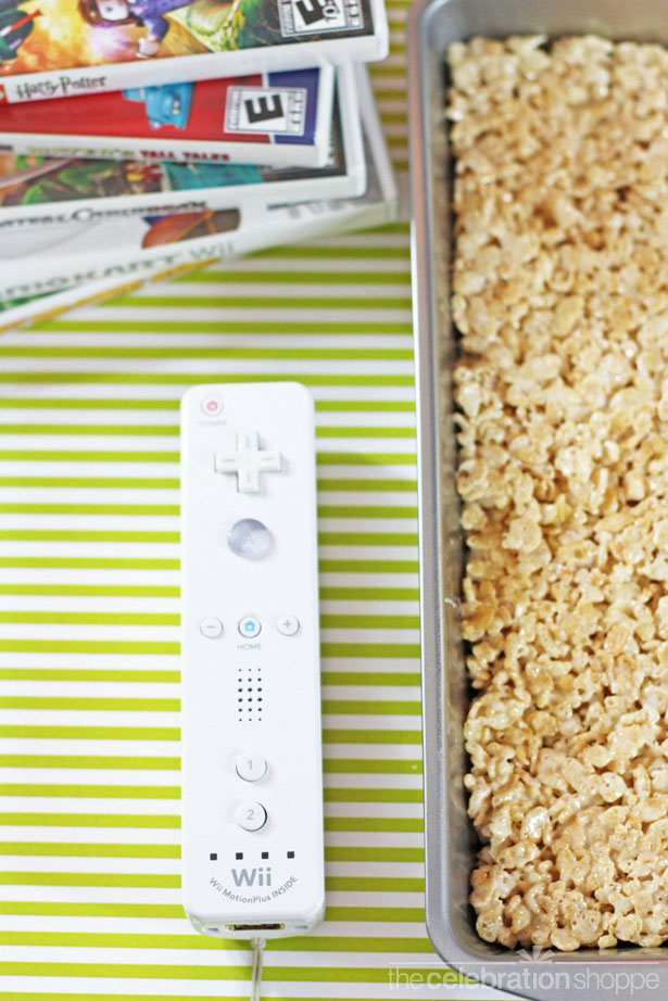 The celebration shoppe wii remote rice krispies 1735 wl