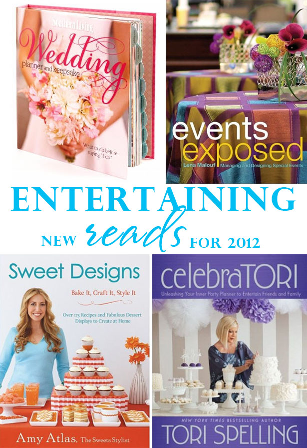 New wedding party baking crafting books for 2012