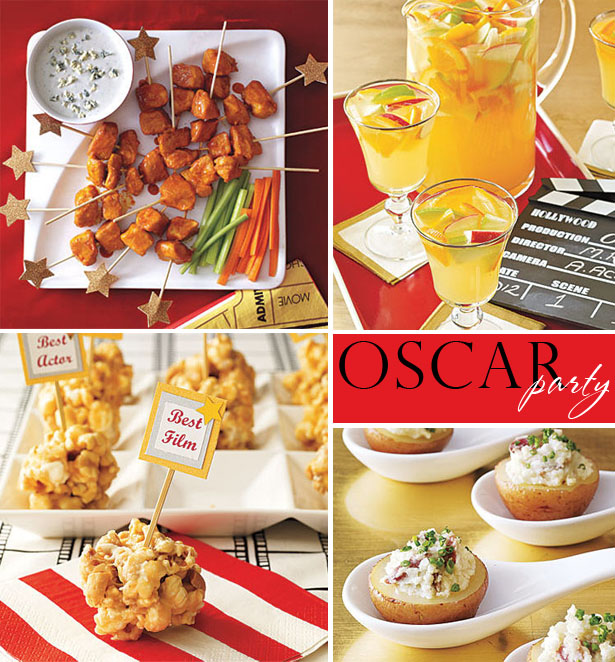 Oscar night party ideas