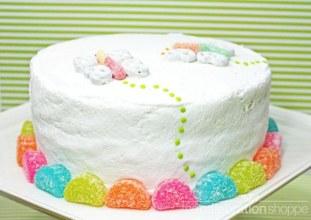 The celebration shoppe butterfly cake 0743 wl
