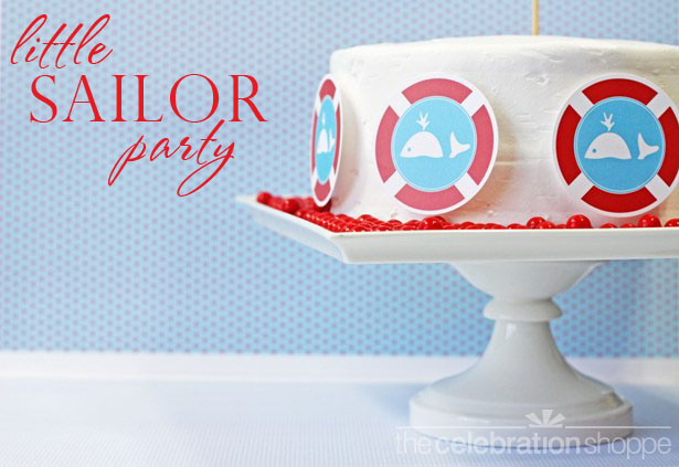 The celebration shoppe diy little sailor cake 2684 wt