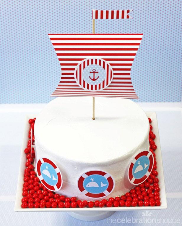 The celebration shoppe diy little sailor cake 2712 wl
