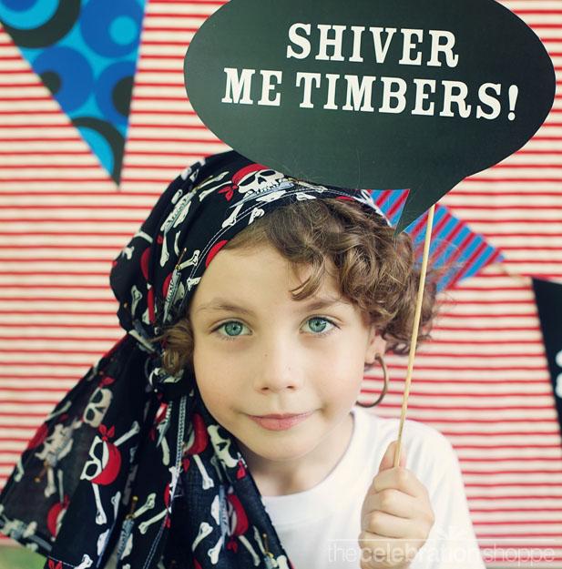 The celebration shoppe diy pirate party photo props 5a