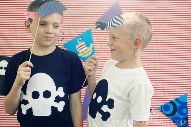 The celebration shoppe diy pirate party photo props 7 wl
