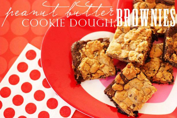 The celebration shoppe peanut butter cookie dough brownies 2003 wt