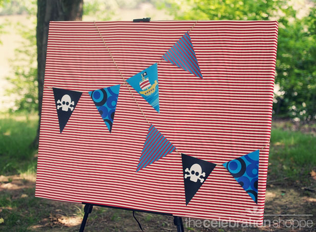 The celebration shoppe pirate party banner wl