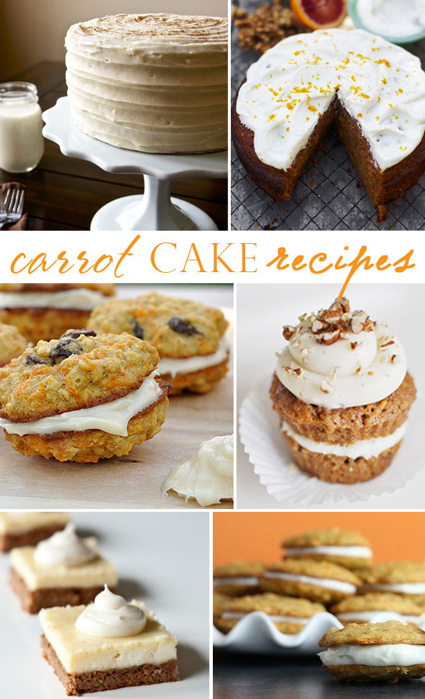 Carrot cake cookie and whoopie pie recipes