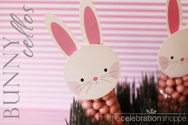 The celebration shoppe bunny cello bags 3234 wlwt