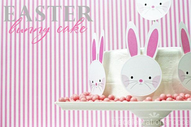 The celebration shoppe easter bunny cake 2920 wt
