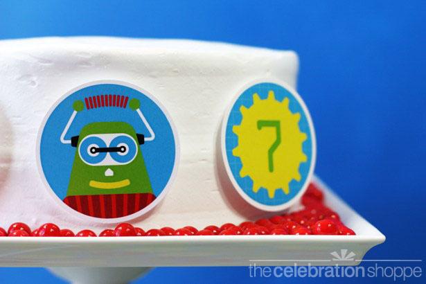 The celebration shoppe robot cake 2586 wl