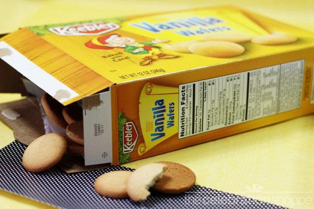 6 the celebration shoppe choc dipped vanilla wafers 2251 wl