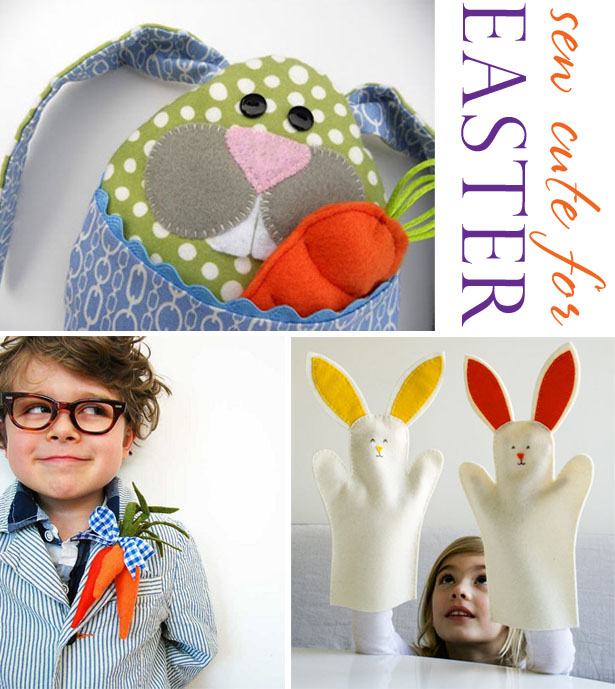 Easy sew crafts for easter