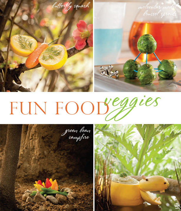 Fun food veggie recipe ideas for picky eaters