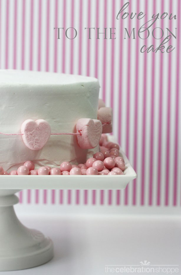 The celebration shoppe easy diy heart cake 1