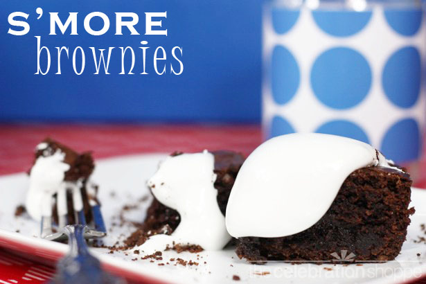 The celebration shoppe smore brownies 3944