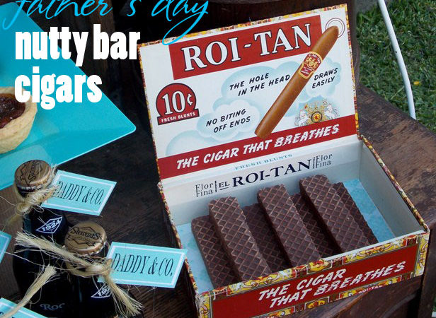 Lauras little party chocolate fathers day cigars