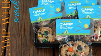 The celebration shoppe campout party printables 5372