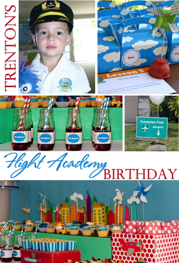 The celebration shoppe airplane birthday party feature1