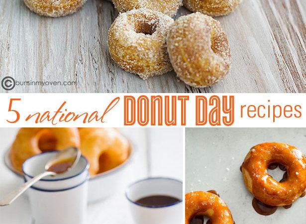 5 national donut day recipes