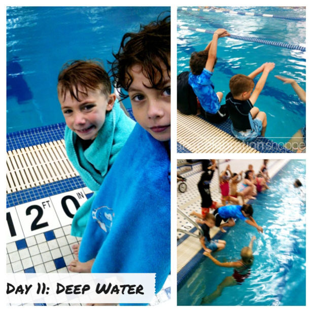 Day 11 first day deep water wl