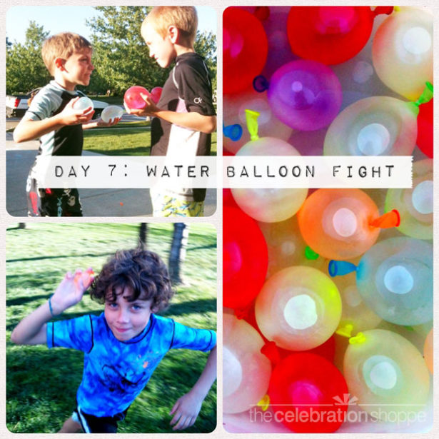 Day 7 water balloon fight wl