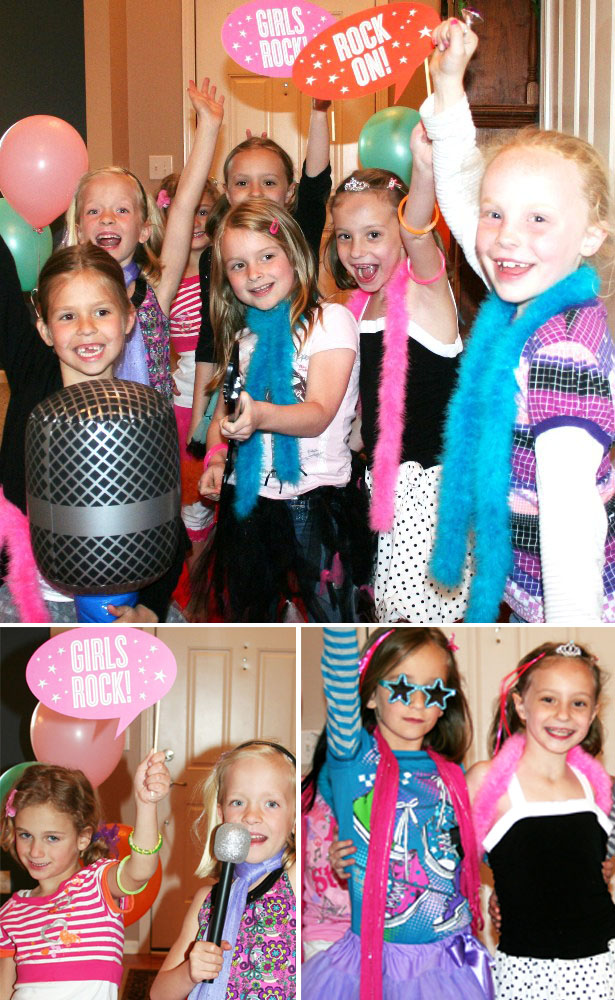 Emmas rock princess party 10