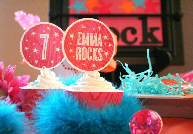 Emmas rock princess party 6sm