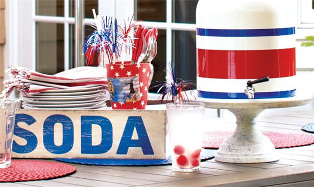 July 4th party table ideas