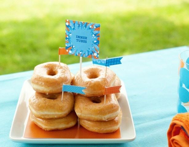 The celebration shoppe intertube donuts