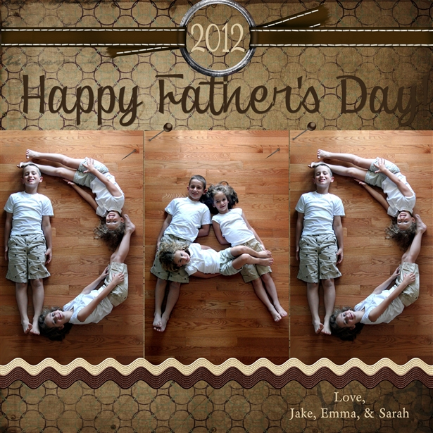 Fathers Day Photography Idea