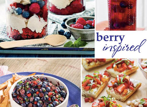 Berry inspired summer entertaining ideas