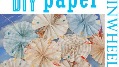 Diy paper pinwheels 2
