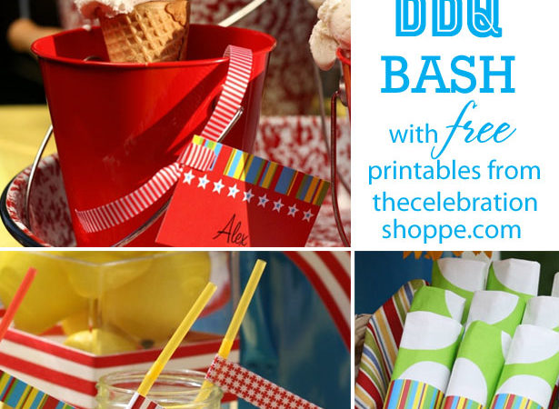 Free bbq party printables from thecelebrationshoppe com