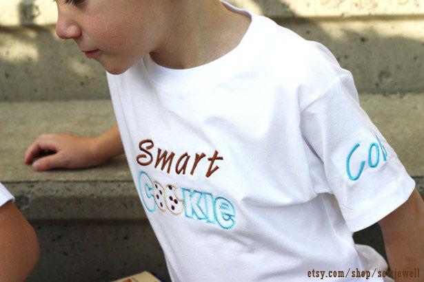 Sew jewell smart cookie t shirt 6635 wl