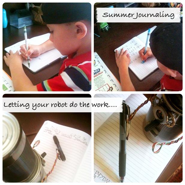 Summer journaling ideas