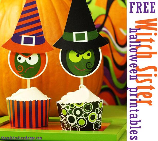 The celebration shoppe free halloween printables wl