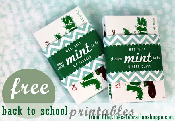 The celebration shoppe free back to school printable 6583b