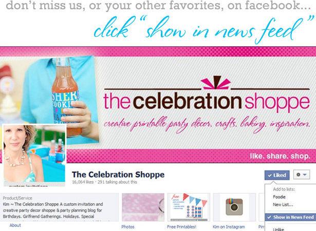 The celebration shoppe on facebook b