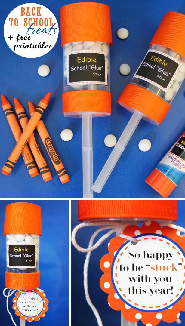 Back to school elmers glue craft