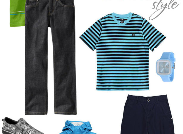 Boy styles for back to school 20121