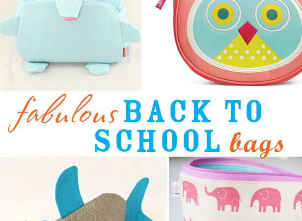 Fabulous back to school bags