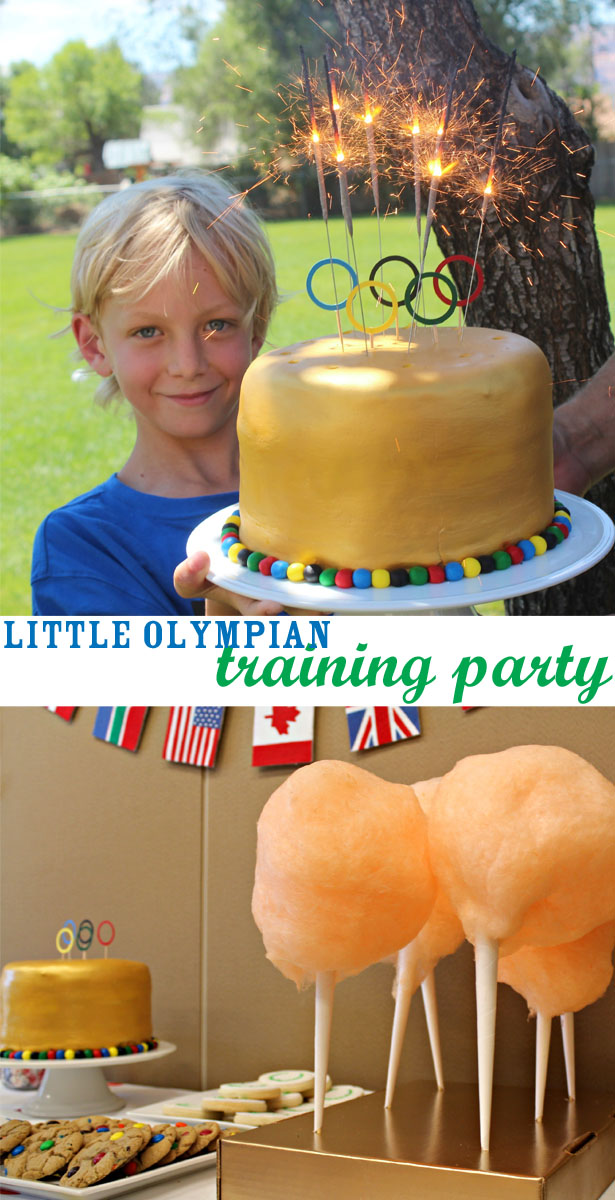 Little olympian training party