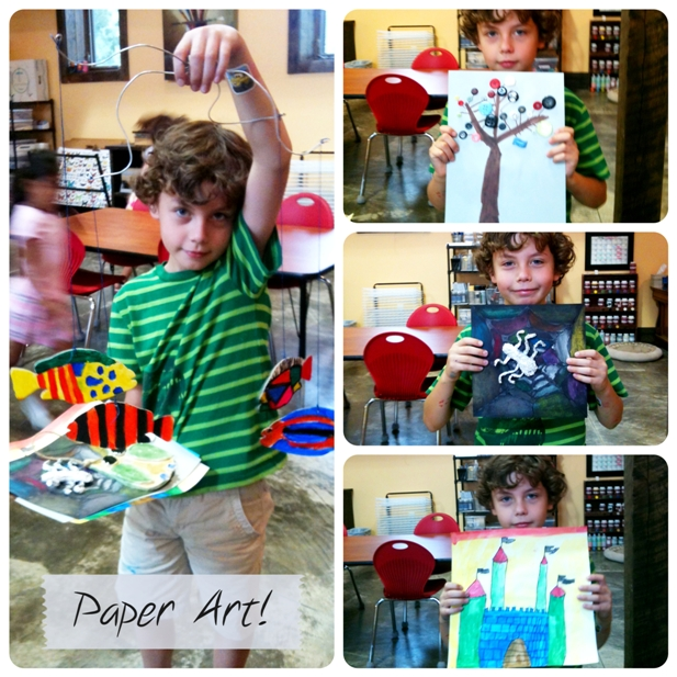Paper art projects sm
