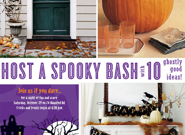 10 ghostly good halloween party ideas