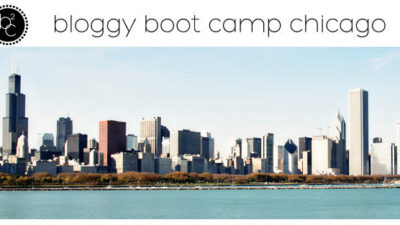 Chicago bloggy boot camp