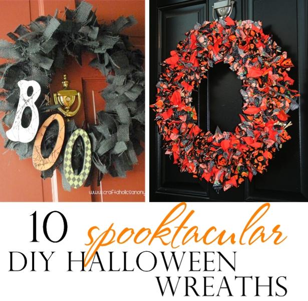 DIY Halloween Wreaths | Kim Byers